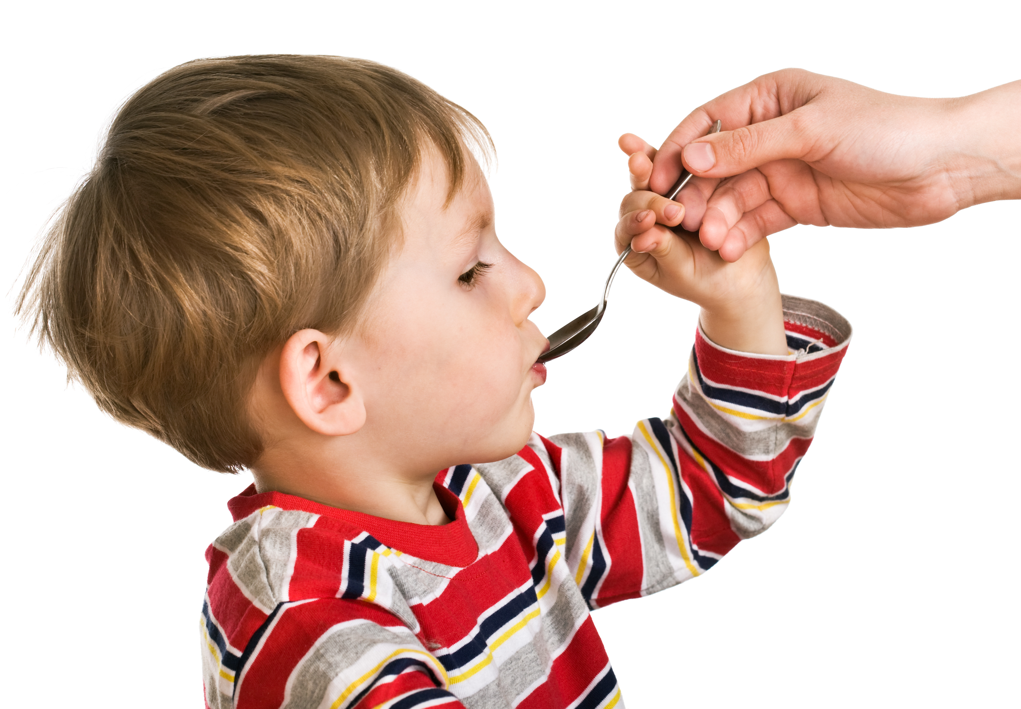 Child Accepting Medication